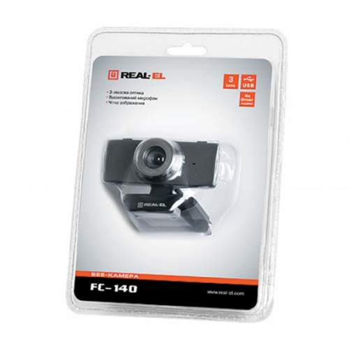 Веб-камера REAL-EL FC-140