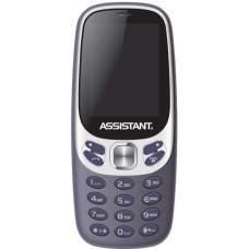 Мобільний телефон ASSISTANT AS-203 Blue