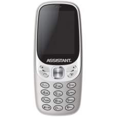 Мобільний телефон ASSISTANT AS-203 Silver