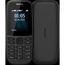 Мобільний телефон NOKIA 105 DS 2019 Black