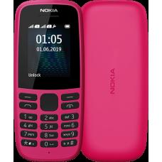 Мобільний телефон NOKIA 105 DS 2019 Pink