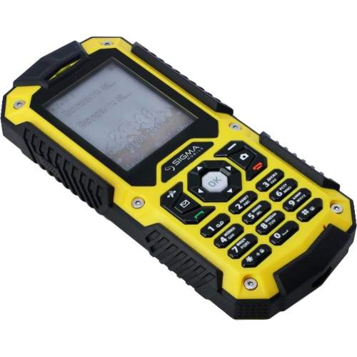 Мобильный телефон SIGMA Х-treme PQ67 3G Yellow-Black