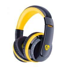 Гарнитура Bluetooth VYKON MX666 Black/Yellow