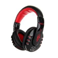 Гарнитура Bluetooth VYKON MP3 V8-1 Black/Red