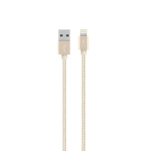 USB-cable BELKIN MIXIT IPHONE 5S Gold