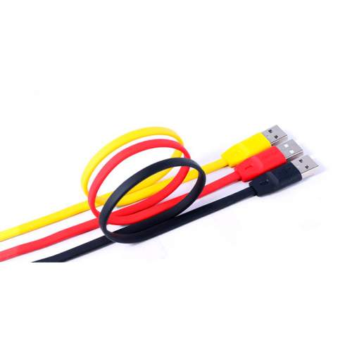 USB-cable REMAX IPHONE 6 Full Speed Yellow 1m