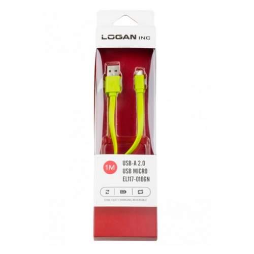 USB-microUSB LOGAN EL117-010GN