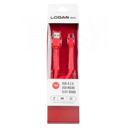 USB-microUSB LOGAN EL117-010RD