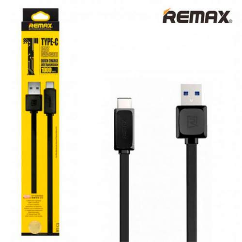 USB REMAX QUICK RT-C1 Type-C Black
