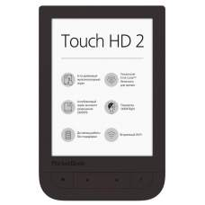 Электронная книга PocketBook 631 Touch HD 2, Dark Brown