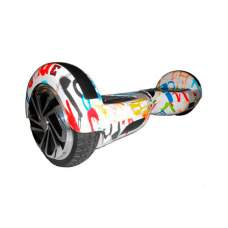 "Гироборд Smart Balance Wheel 6.5"" TaoTao Граффити Белый"