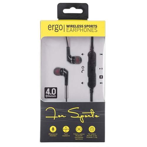 Гарнитура Bluetooth ERGO BT-800 Black