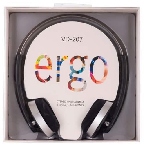 Наушники ERGO VD-207 Black
