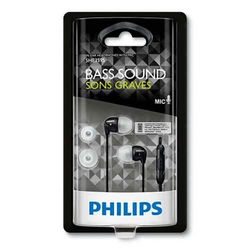 Гарнитура PHILIPS SHE3595BK Mic Black