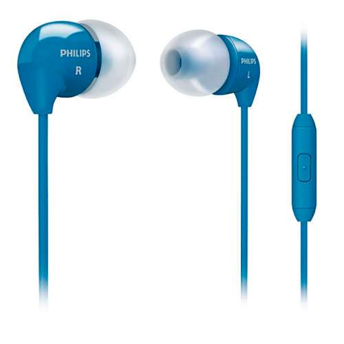 Гарнитура PHILIPS SHE3595BL Mic Blue