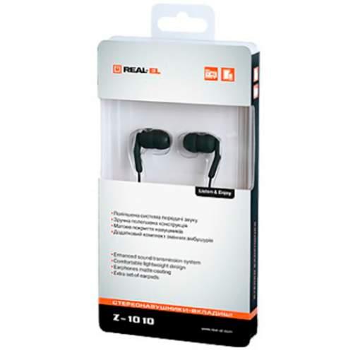 Наушники REAL-EL Z-1010 Black