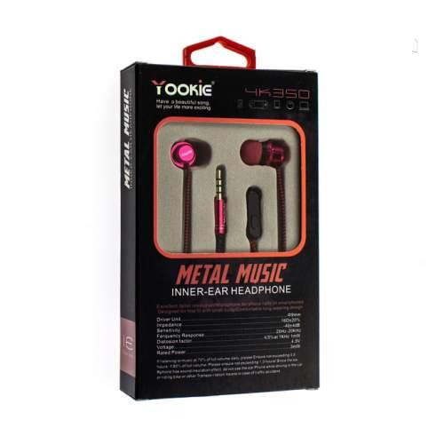 Гарнитура YOOKIE YK-350 Pink