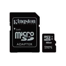 Карта microSD KINGSTON 16Gb (4)+Ad