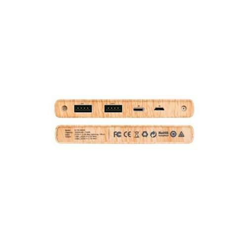 Power Bank HOCO B17B 20000mAh wood grain Waln