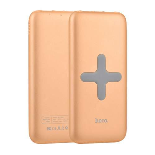 Power Bank WIRELESS HOCO B11-Qi8000mAh Gold