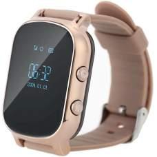Детские часы-телефон с GPS трекером GOGPS ME K20 Золотой