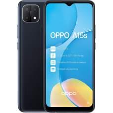 Смартфон OPPO A15s 4/64 Black