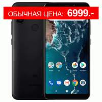 Смартфон XIAOMI Mi A2 4/64 Black Глобальная версия