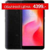 Смартфон XIAOMI Redmi 6 3/32GB Black