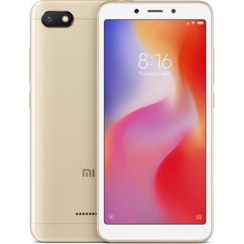 Смартфон XIAOMI Redmi 6A 2/16GB Gold Глобальная версия