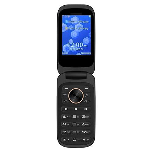 Мобильный телефон BRAVIS F243 Folder Gold