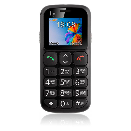 Мобильный телефон FLY EZZY7 Black