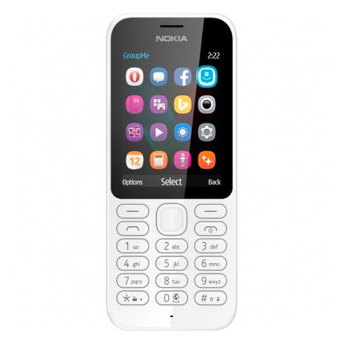 Мобильный телефон NOKIA 222 White