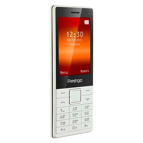 Мобильный телефон  PRESTIGIO 1280 DUO White