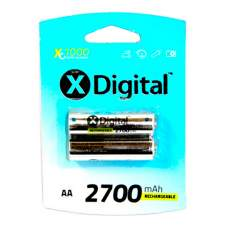 Аккумуляторы X-DIGITAL HR06 2700 mAh