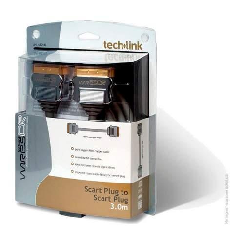 Кабель SCART TECHLINK 700081 0,5 m