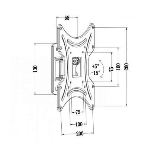Кронштейн ITECH LCD-421-511