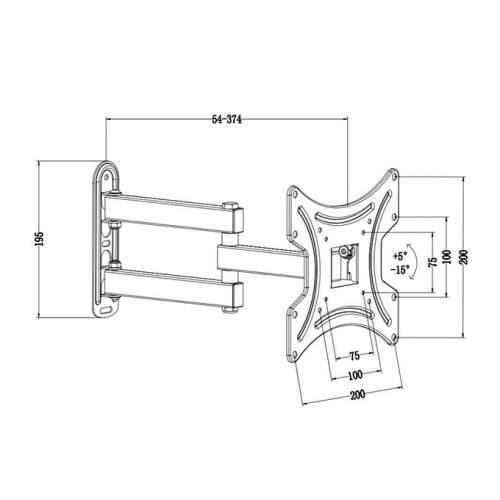 Кронштейн ITECH LCD-423