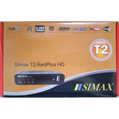 ТВ ресивер DVB-T2 SIMAX RED PLUS T2