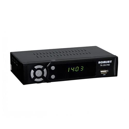 ТВ ресивер DVB-T2 Romsat T2017