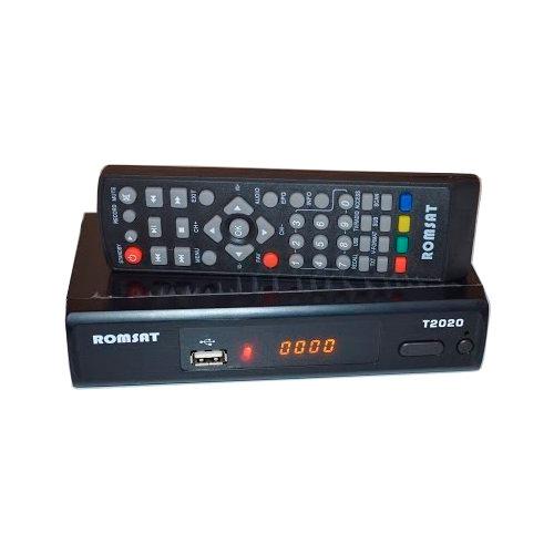 ТВ ресивер DVB-T2 Romsat T2020