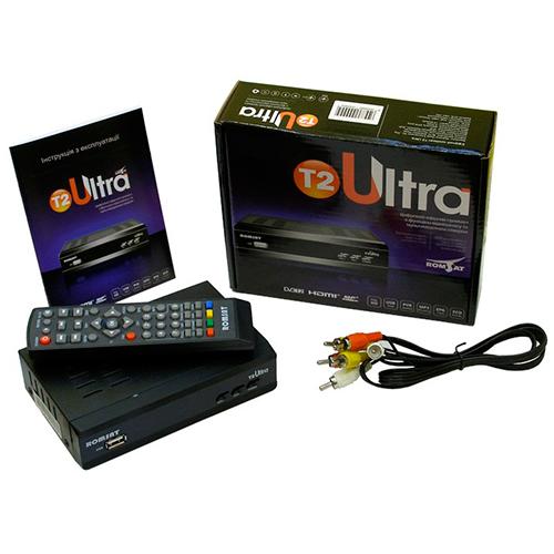 ТВ ресивер DVB-T2 ROMSAT ULTRA T2
