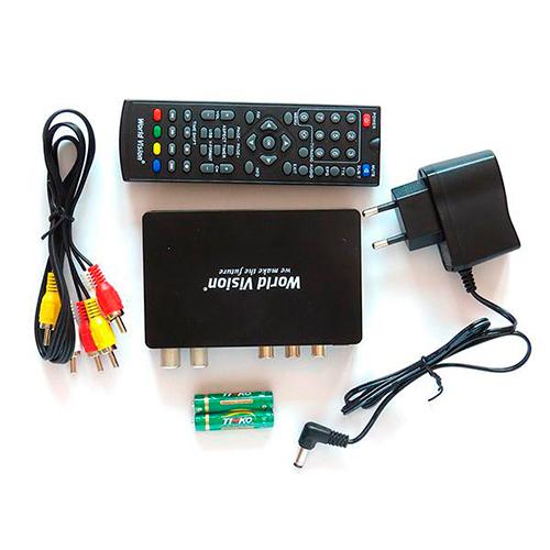 ТВ ресивер DVB-T2 WORLD VISION T59